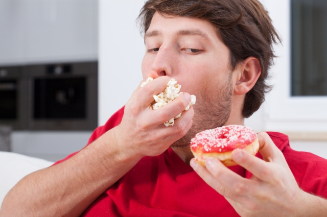 Man can't help eating